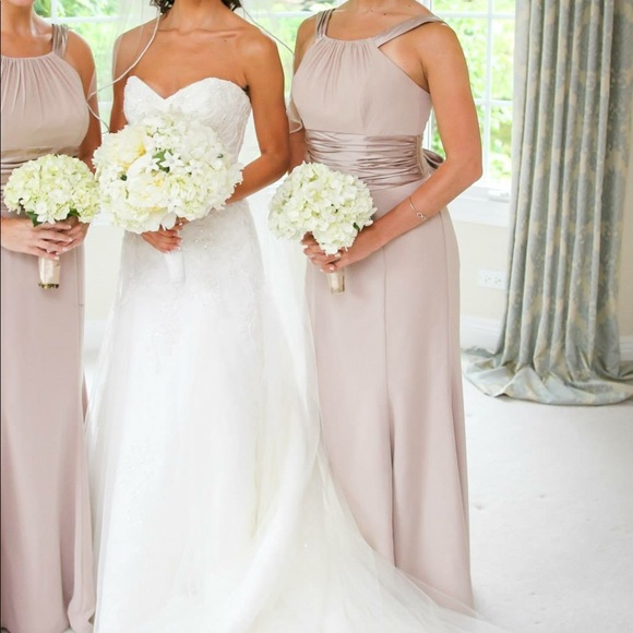 Dresses Gold Metallic Bridesmaid Dress Poshmark